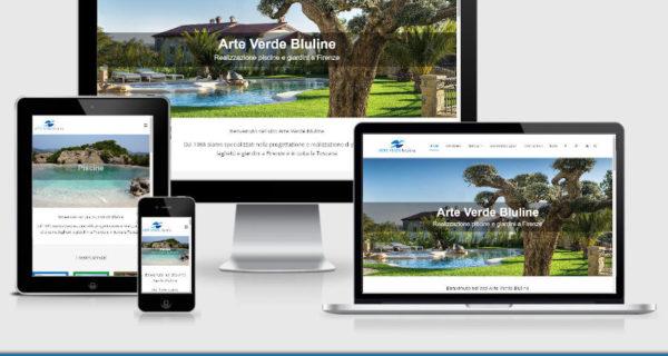È Online Il Nuovo Sito Web Di Arte Verde Bluline!